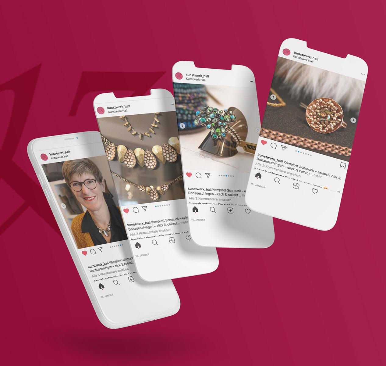 Social-Media-Beiträge von Kunstwerk Hall
