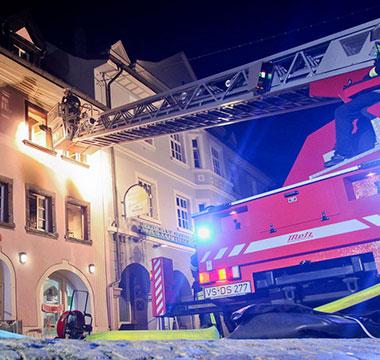 Portfolikachel Feuerwehr Donaueschingen