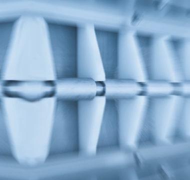 Bildausschnitt einer Maschine von Erka Technik