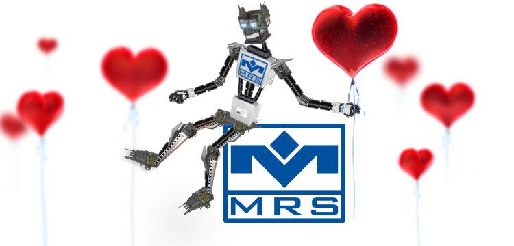 Referenzbild MRS Electronic mit Maskottchen