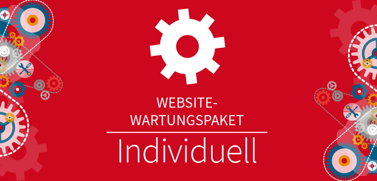 Website Wartungspaket Individuell
