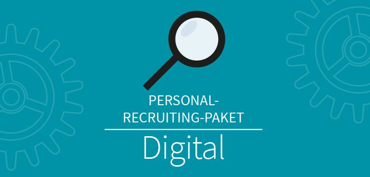 Personal Recruiting Paket Digital