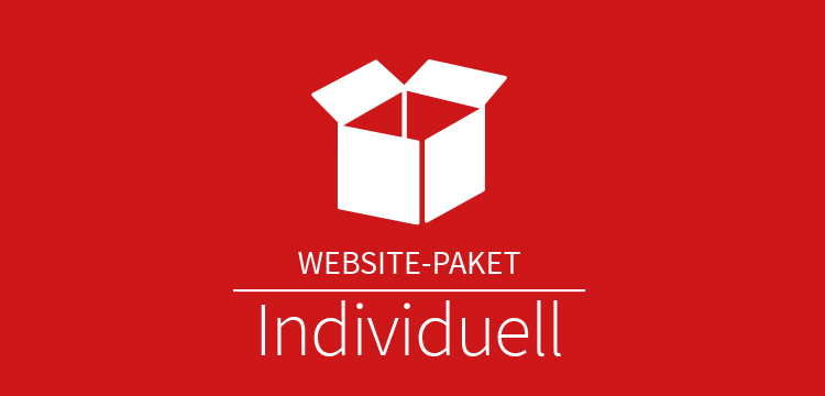 Website Paket Individuell